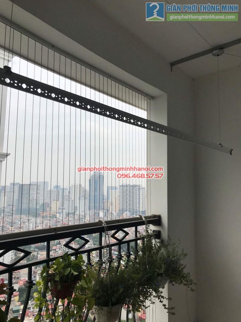 Lắp giàn phơi thông minh tại Thanh Xuân, nhà cô Ngần, tòa R4, Royal City - 06