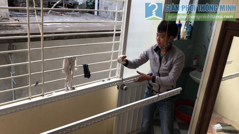 Lắp giàn phơi Tây Hồ nhà anh Thám, ngách 43, ngõ 477 Lạc Long Quân - 10