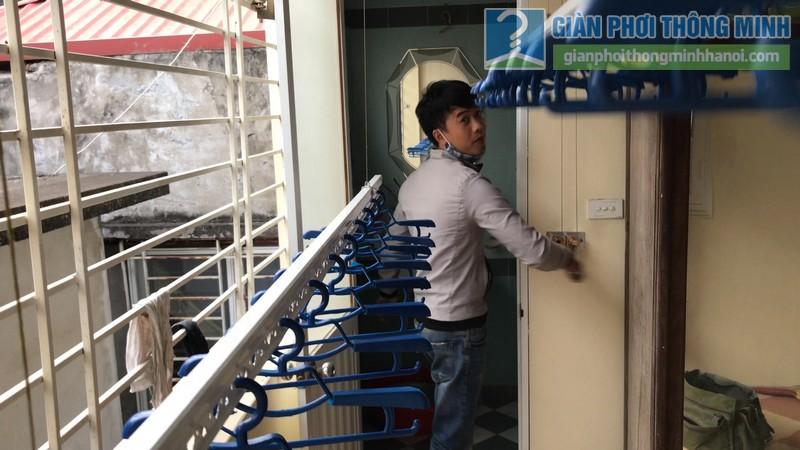 Lắp giàn phơi Tây Hồ nhà anh Thám, ngách 43, ngõ 477 Lạc Long Quân - 08