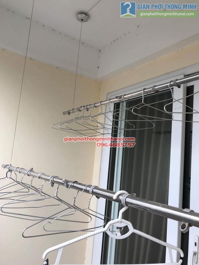 Sửa giàn phơi thông minh nhà anh Tuấn, Thanh Xuân, Hà Nội - 03
