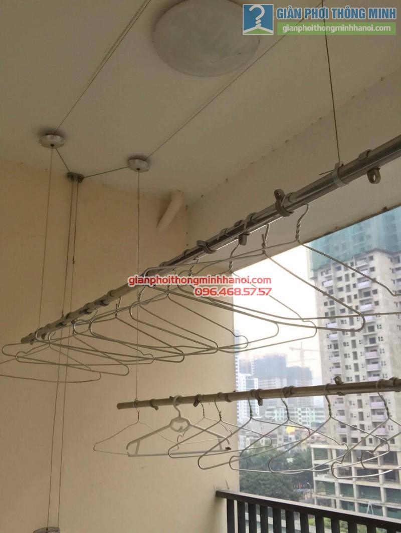 Sửa giàn phơi thông minh nhà anh Tuấn, Thanh Xuân, Hà Nội - 05