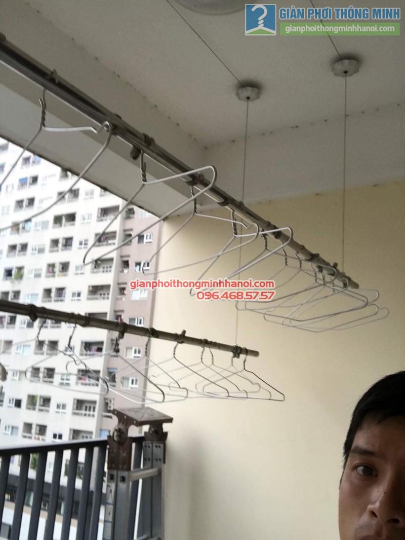 Sửa giàn phơi thông minh nhà anh Tuấn, Thanh Xuân, Hà Nội - 06