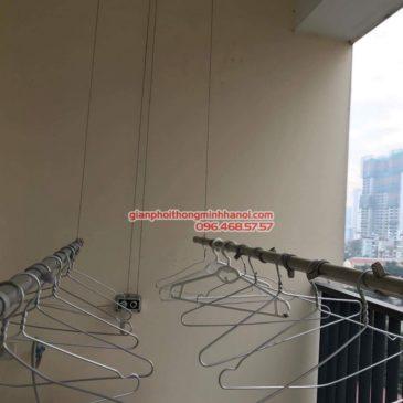 Sửa giàn phơi thông minh nhà anh Tuấn, chung cư Phú Gia Residence, Thanh Xuân, Hà Nội