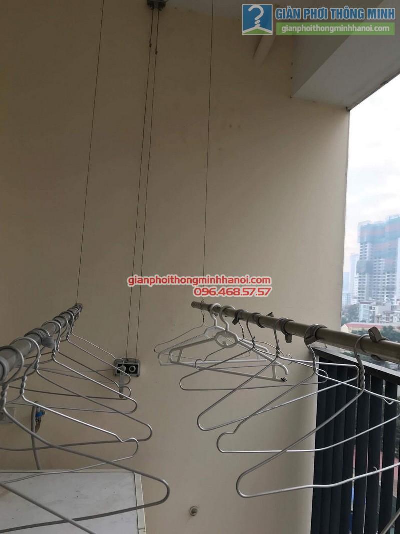 Sửa giàn phơi thông minh nhà anh Tuấn, Thanh Xuân, Hà Nội - 10