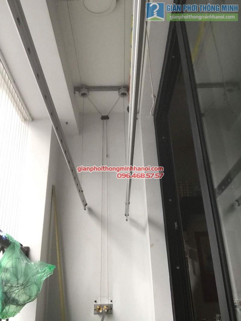 Sửa giàn phơi nhà chị Thắm, tòa T1 Times City - 07