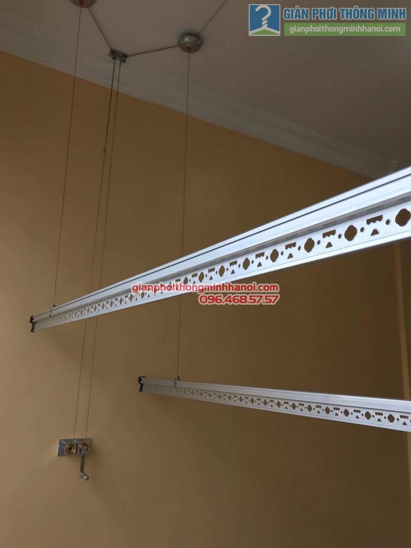 Lắp giàn phơi Cầu giấy nhà chị Vui, chung cư 24T2 Hoàng Đạo Thúy - 04