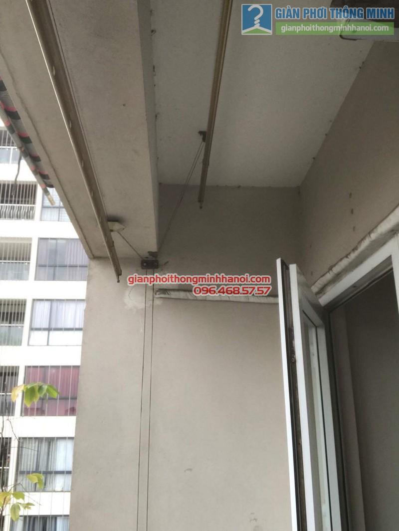 Sửa giàn phơi nhà chị Hạnh, chung cư G3C Vũ Phạm Hàm, Cầu giấy, Hà Nội - 01