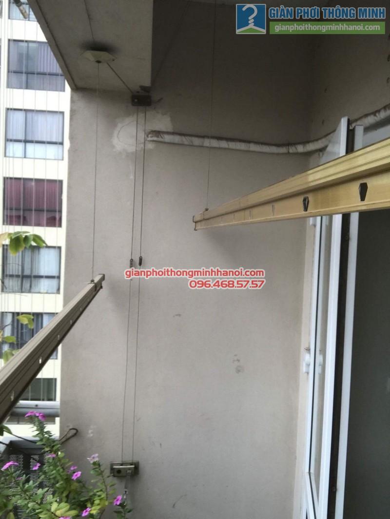 Sửa giàn phơi nhà chị Hạnh, chung cư G3C Vũ Phạm Hàm, Cầu giấy, Hà Nội - 03