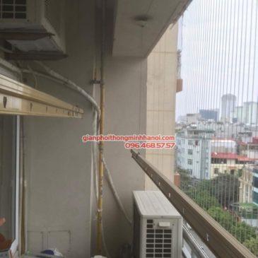 Sửa giàn phơi thông minh nhà chị Hạnh, chung cư G3C Vũ Phạm Hàm, Cầu Giấy, Hà Nội