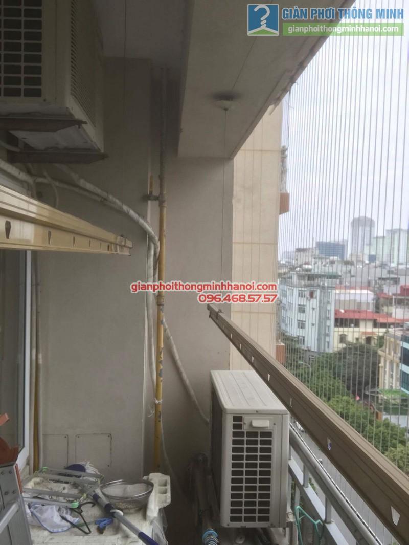 Sửa giàn phơi nhà chị Hạnh, chung cư G3C Vũ Phạm Hàm, Cầu giấy, Hà Nội - 05
