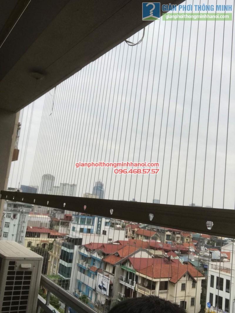 Sửa giàn phơi nhà chị Hạnh, chung cư G3C Vũ Phạm Hàm, Cầu giấy, Hà Nội - 07