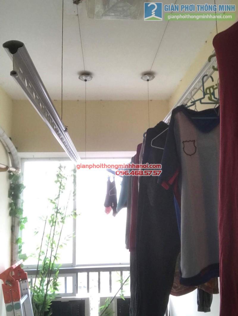 Sửa giàn phơi nhà chị Thanh, chung cư N07 Dịch Vọng, Cầu giấy - 03