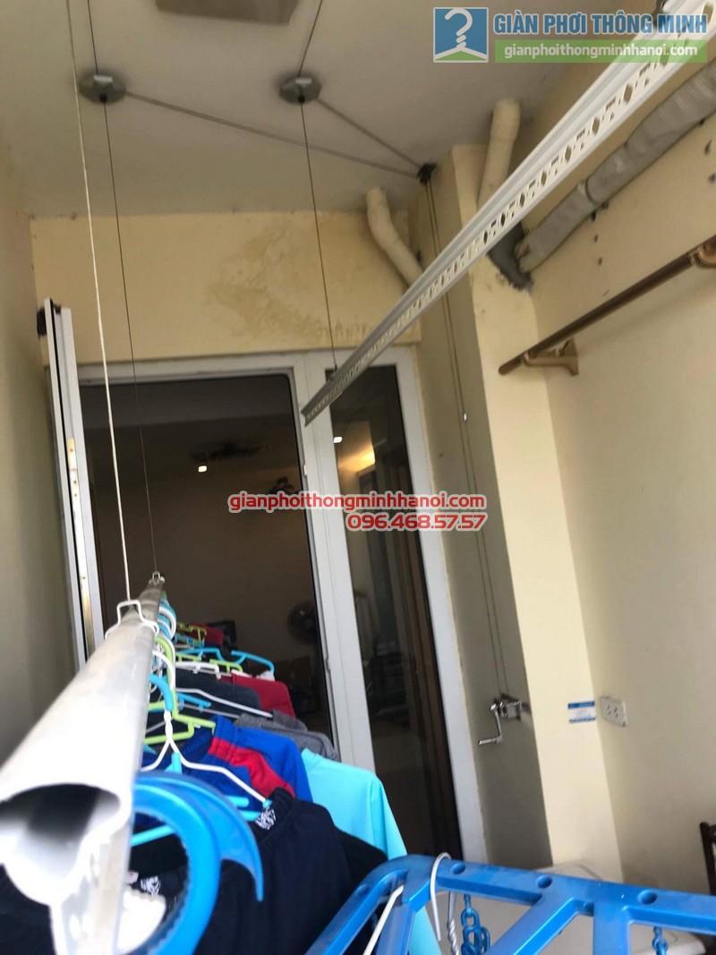 Sửa giàn phơi nhà chị Thanh, chung cư N07 Dịch Vọng, Cầu giấy - 05