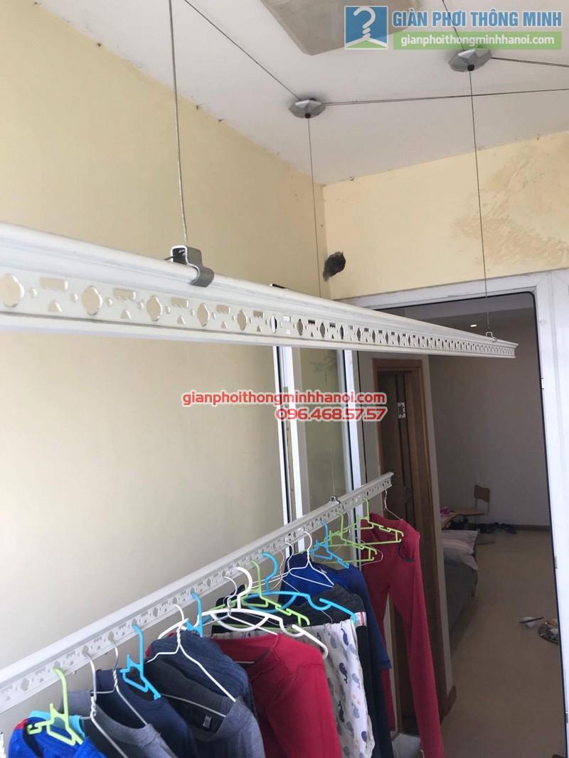 Sửa giàn phơi nhà chị Thanh, chung cư N07 Dịch Vọng, Cầu giấy - 06