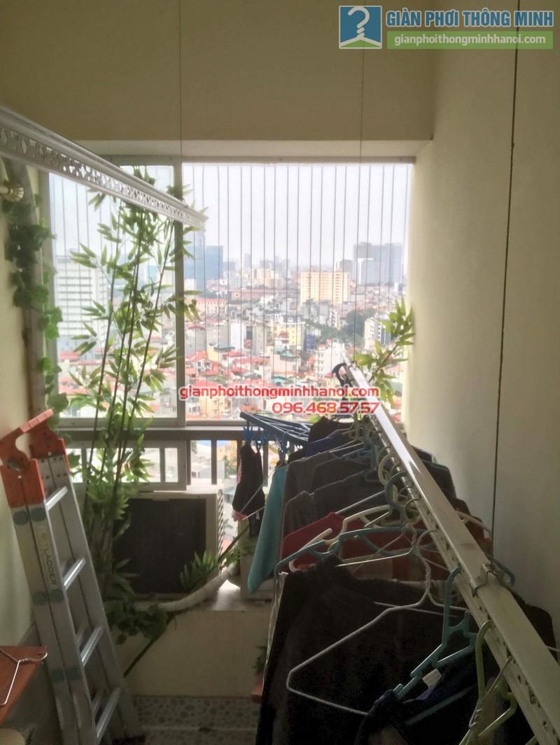 Sửa giàn phơi nhà chị Thanh, chung cư N07 Dịch Vọng, Cầu giấy - 07