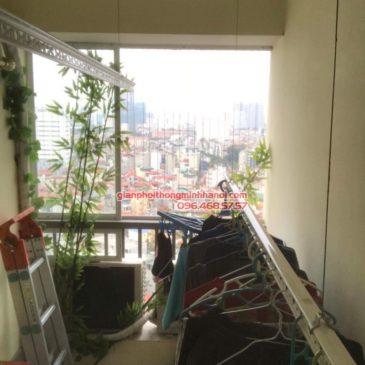 Sửa giàn phơi thông minh tại Cầu Giấy nhà chị Thanh, chung cư N07 Dịch Vọng