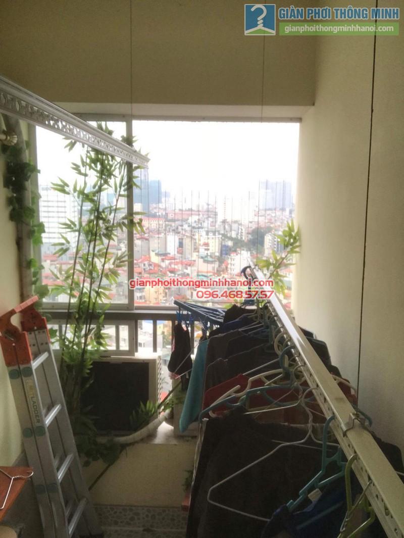 Sửa giàn phơi nhà chị Thanh, chung cư N07 Dịch Vọng, Cầu giấy - 08