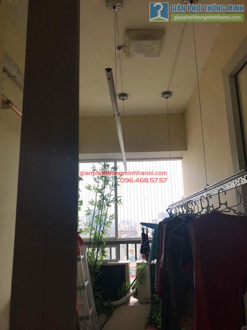 Sửa giàn phơi nhà chị Thanh, chung cư N07 Dịch Vọng, Cầu giấy - 09