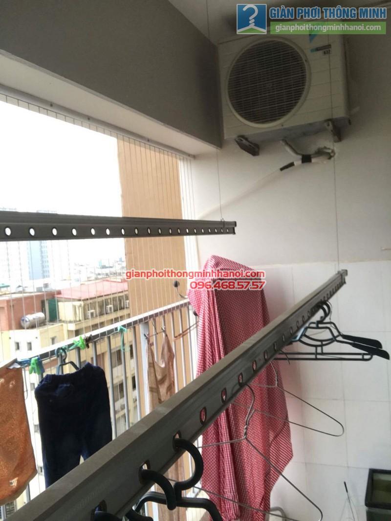 Sửa giàn phơi thông minh Hà Đông nhà anh Bảo, chung cư Xuân Mai Park Tower - 02