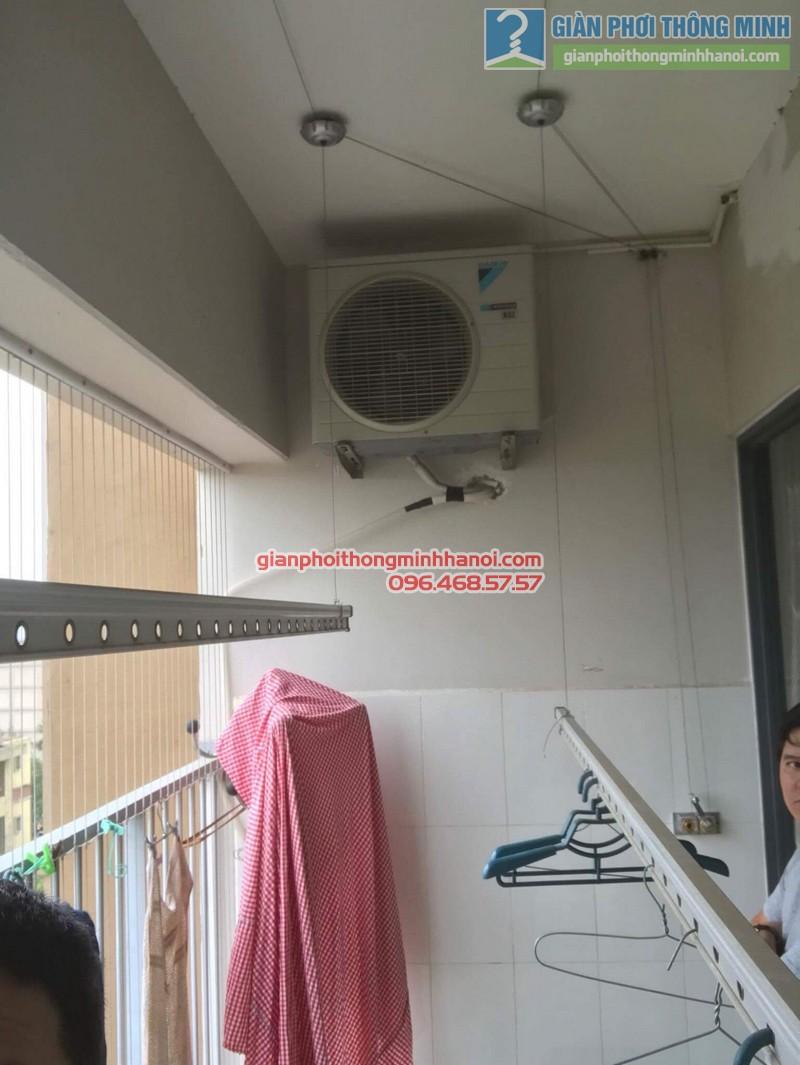 Sửa giàn phơi thông minh Hà Đông nhà anh Bảo, chung cư Xuân Mai Park Tower - 03