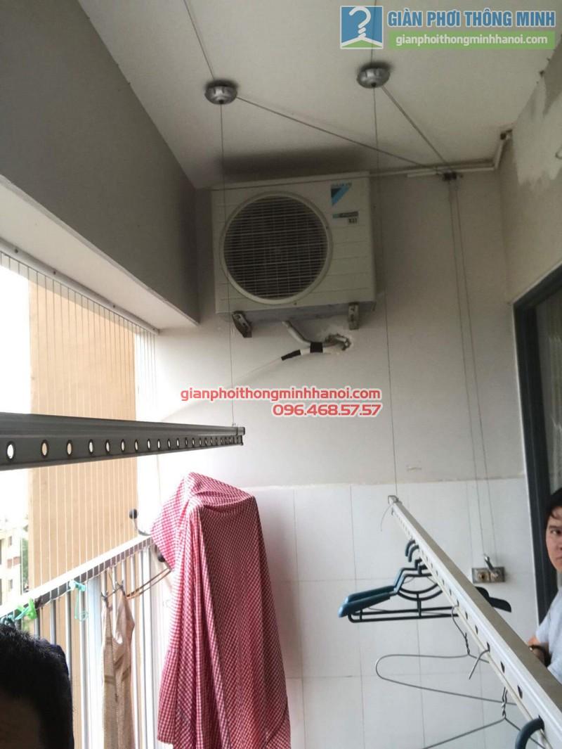 Sửa giàn phơi thông minh Hà Đông nhà anh Bảo, chung cư Xuân Mai Park Tower - 04