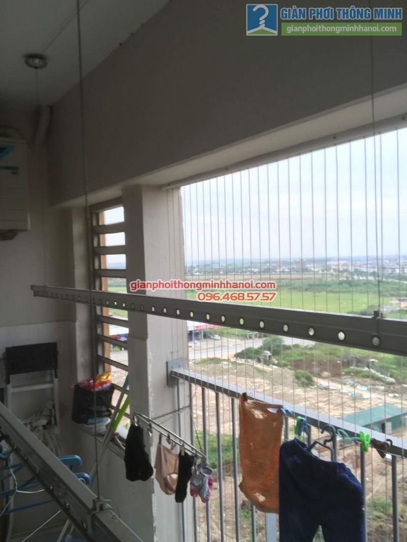 Sửa giàn phơi thông minh Hà Đông nhà anh Bảo, chung cư Xuân Mai Park Tower - 05