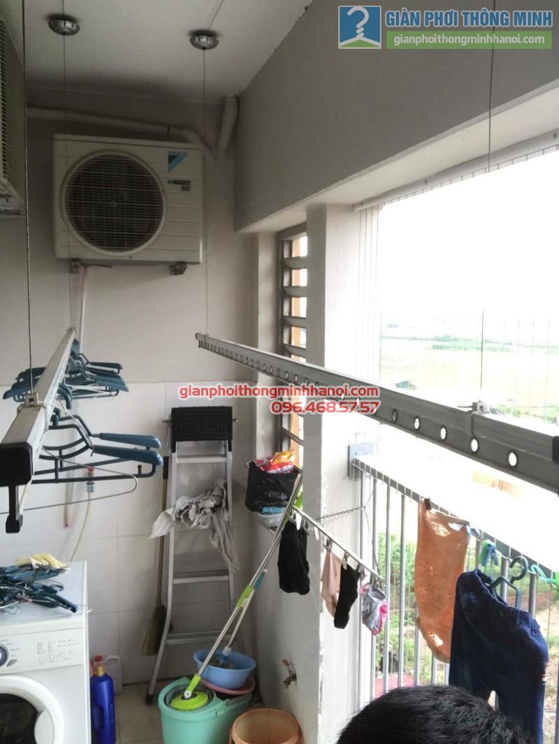 Sửa giàn phơi thông minh Hà Đông nhà anh Bảo, chung cư Xuân Mai Park Tower - 06