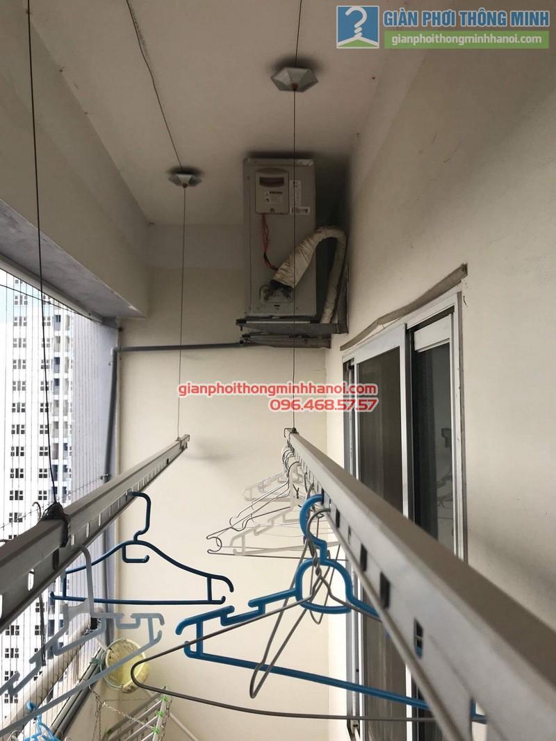Sửa giàn phơi tại Hà Đông nhà anh Nghĩa, P2005 chung cư Thủy Lợi Tower - 06