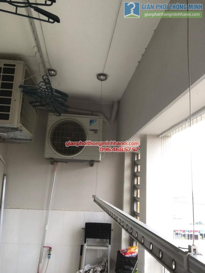 Sửa giàn phơi thông minh Hà Đông nhà anh Bảo, chung cư Xuân Mai Park Tower - 07