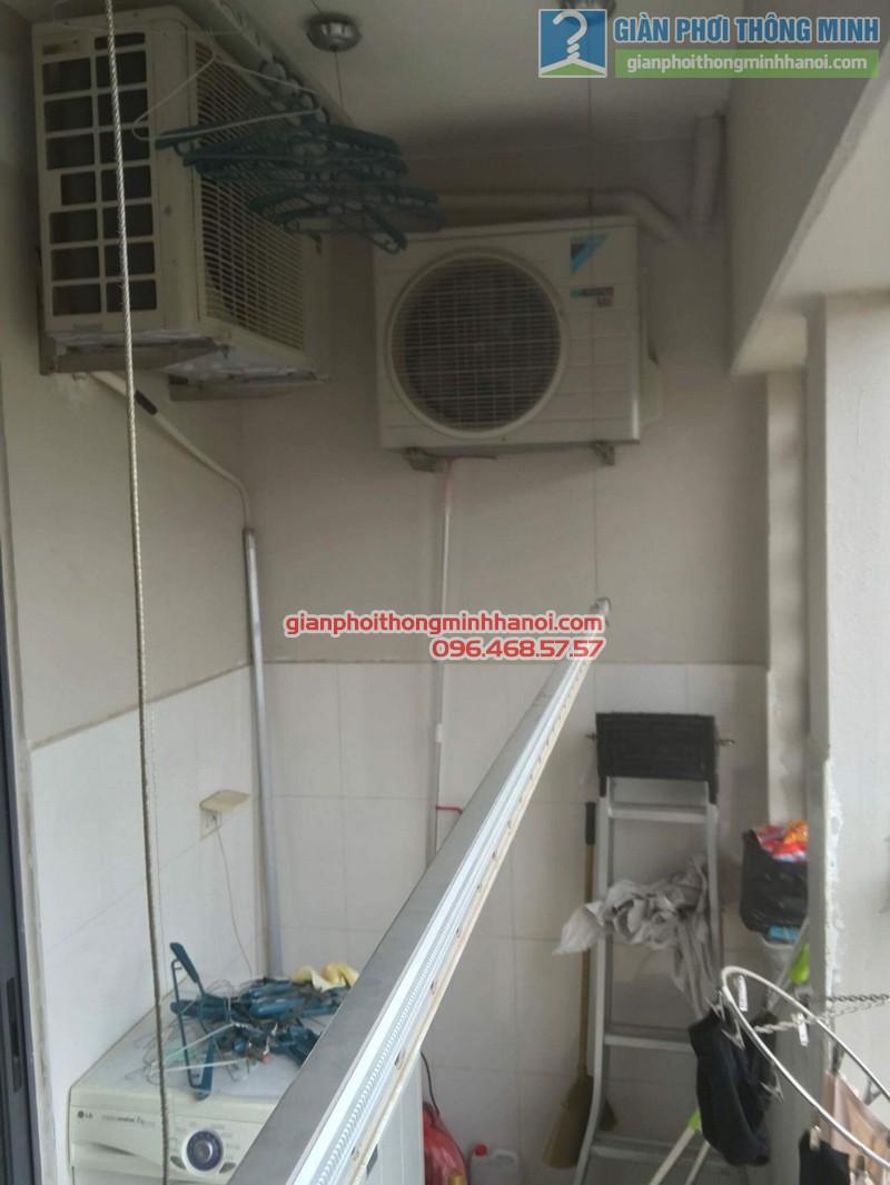 Sửa giàn phơi thông minh Hà Đông nhà anh Bảo, chung cư Xuân Mai Park Tower - 08
