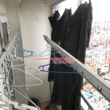 Sửa giàn phơi tại Hà Đông nhà anh Nghĩa, p2005 chung cư Thủy Lợi Tower