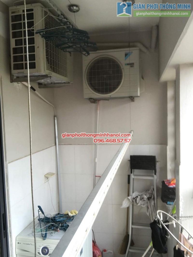 Sửa giàn phơi thông minh Hà Đông nhà anh Bảo, chung cư Xuân Mai Park Tower - 09