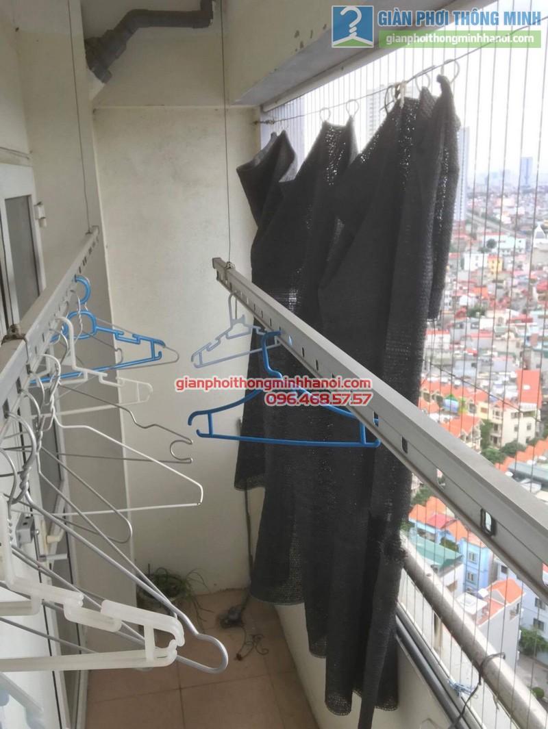 Sửa giàn phơi tại Hà Đông nhà anh Nghĩa, P2005 chung cư Thủy Lợi Tower - 09