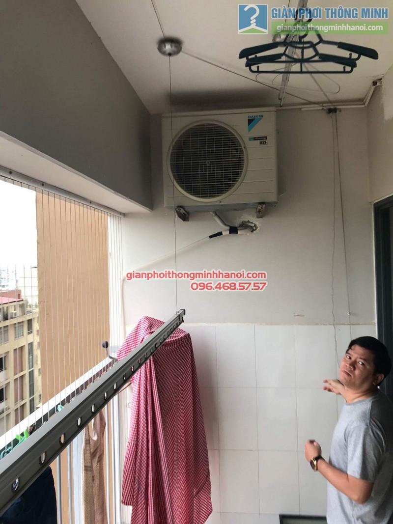 Sửa giàn phơi thông minh Hà Đông nhà anh Bảo, chung cư Xuân Mai Park Tower - 10