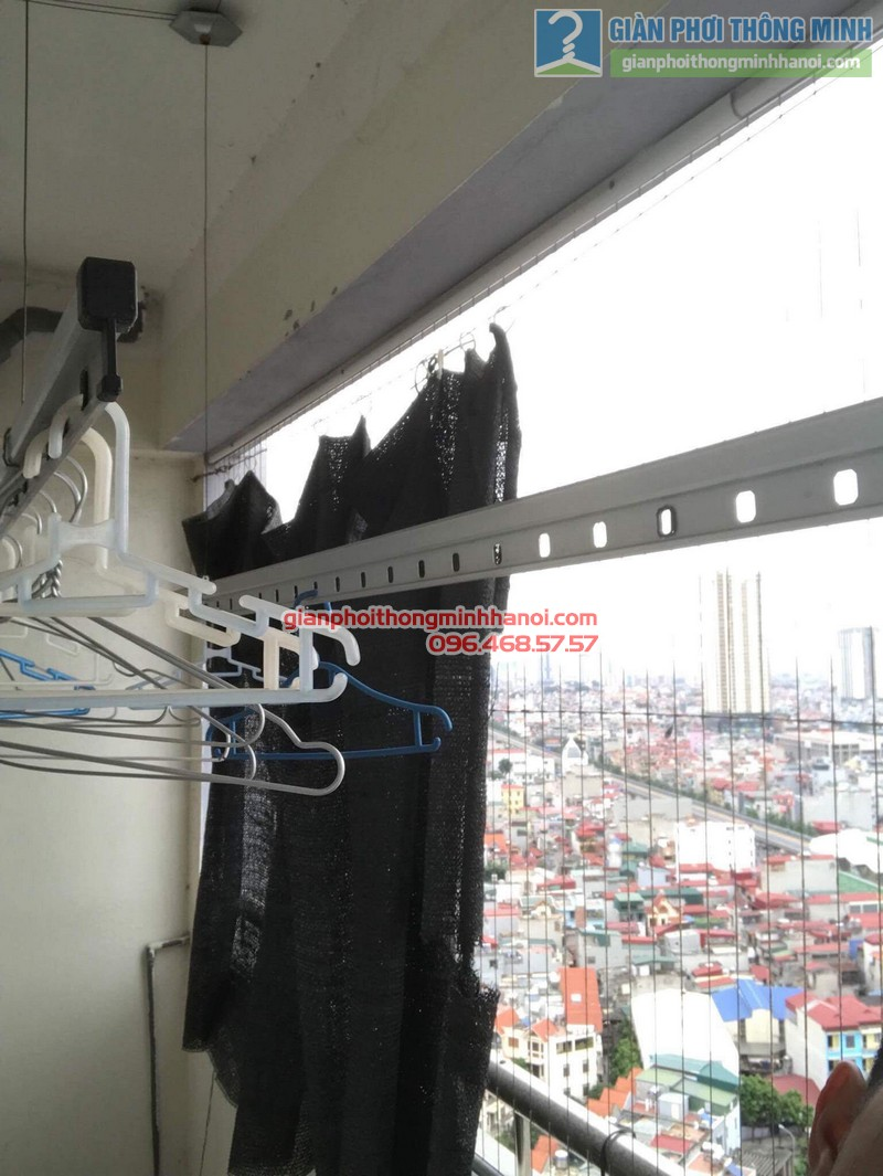 Sửa giàn phơi tại Hà Đông nhà anh Nghĩa, P2005 chung cư Thủy Lợi Tower - 10