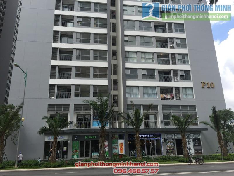 Chung cư cao cấp Park 10, Park Hill Times City nơi gia đình chị Thảo sinh sống