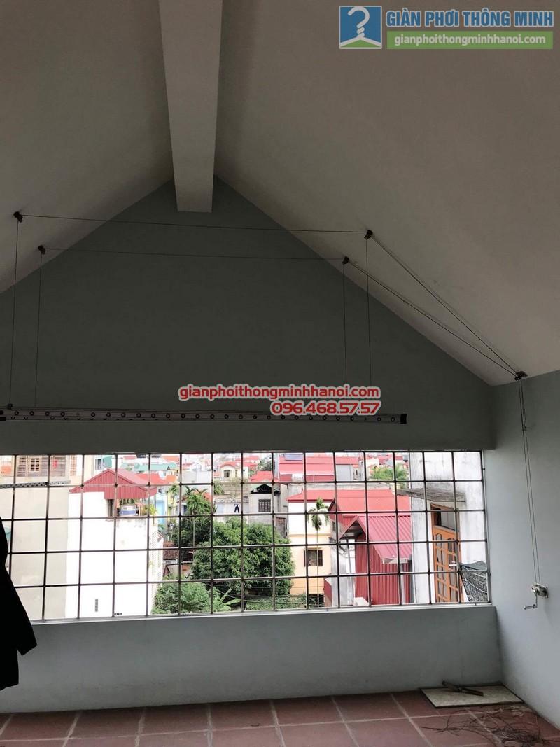 Sửa giàn phơi nhà chị Mùi, thị trấn Trâu Qùy, Gia Lâm, Hà Nội - 01