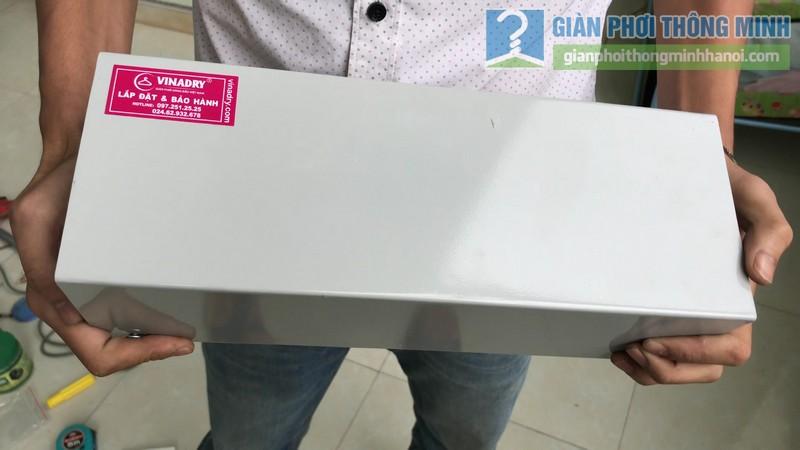 Lắp giàn phơi điện tự động Vinadry nhà chị Hảo ngõ 170 Xuân Thủy, Cầu giấy - 01