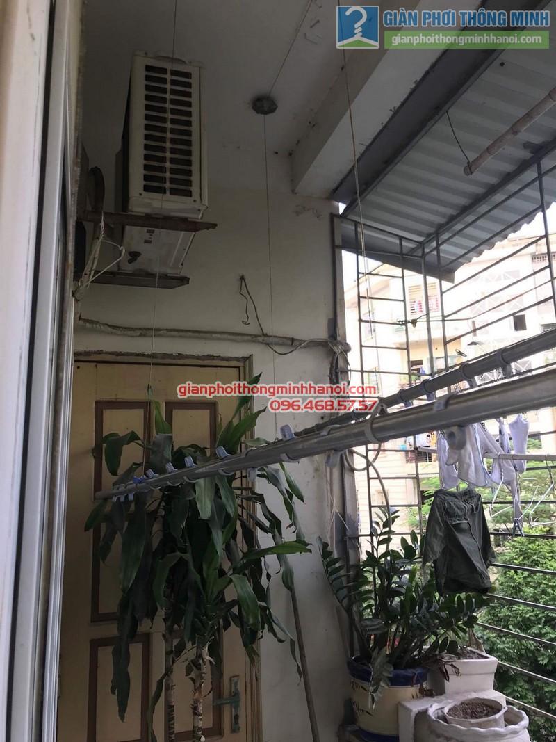 Sửa giàn phơi Ba Sao nhà anh Hiệu, ngõa 16 Phan Văn Trường, Dịch Vọng, Cầu Giấy, Hà Nội - 01