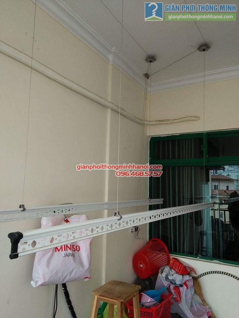 Lắp giàn phơi 999B nhà anh Đức, tòa 24T2 Hoàng Đạo Thúy, KĐT Trung Hòa Nhân Chính, Cầu Giấy, Hà Nội - 02