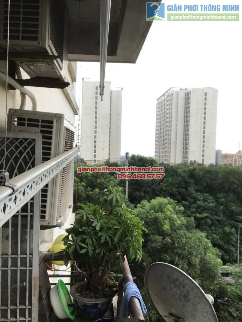 Thay củ quay giàn phơi nhà chị Thắm, chung cư N04 Hoàng Đạo Thúy, Trung Hòa, Cầu giấy - 02