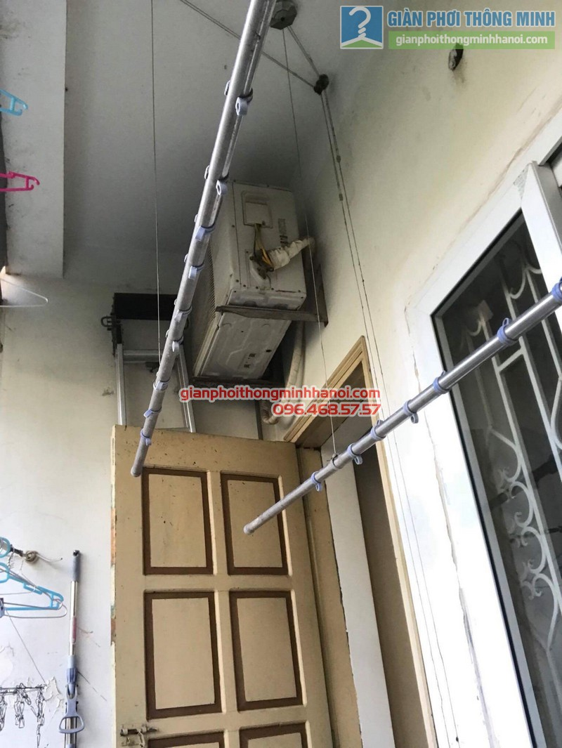 Sửa giàn phơi Ba Sao nhà anh Hiệu, ngõa 16 Phan Văn Trường, Dịch Vọng, Cầu Giấy, Hà Nội - 02