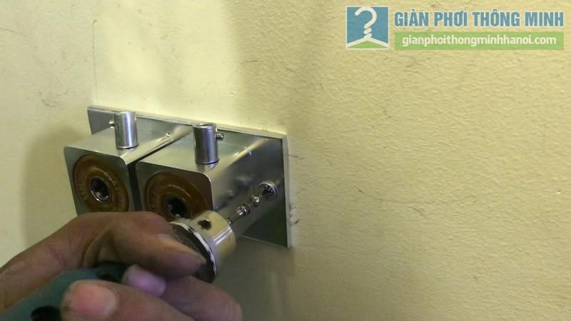 Lắp giàn phơi 999B nhà chị Mai, chung cư Hòa Bình Green, 505 Minh Khai, Hai Bà Trưng, Hà Nội - 05