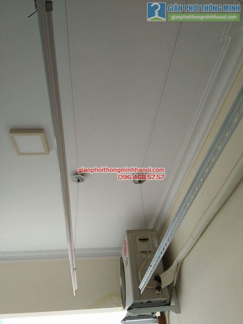 Lắp giàn phơi 999B nhà anh Đức, tòa 24T2 Hoàng Đạo Thúy, KĐT Trung Hòa Nhân Chính, Cầu Giấy, Hà Nội - 03