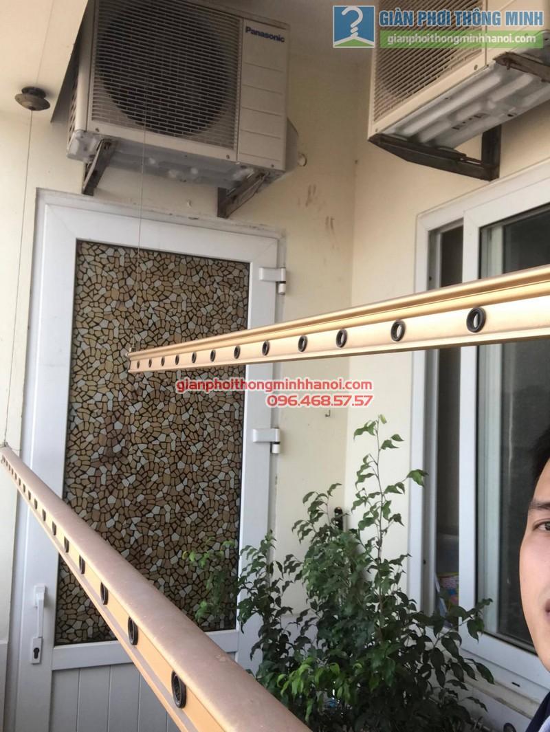 Sửa chữa giàn phơi tại Cầu giấy nhà chị Hiên,chung cư N07 Dịch Vọng - 03
