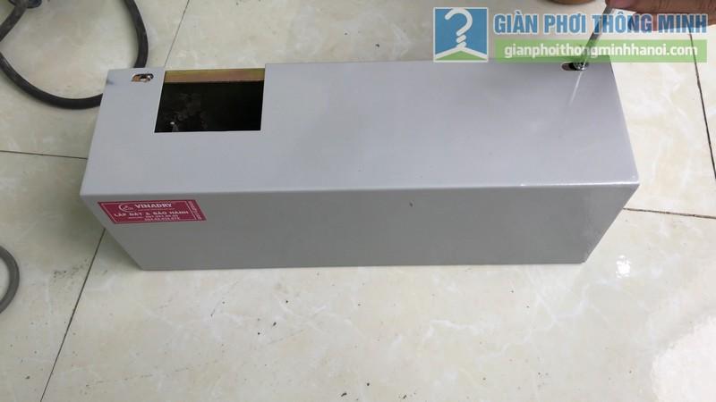 Lắp giàn phơi điện tự động Vinadry nhà chị Hảo ngõ 170 Xuân Thủy, Cầu giấy - 03