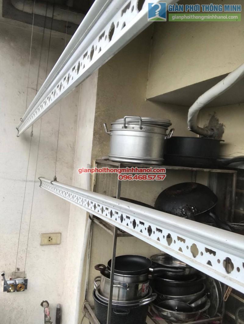 Thay củ quay giàn phơi nhà chị Thắm, chung cư N04 Hoàng Đạo Thúy, Trung Hòa, Cầu giấy - 03