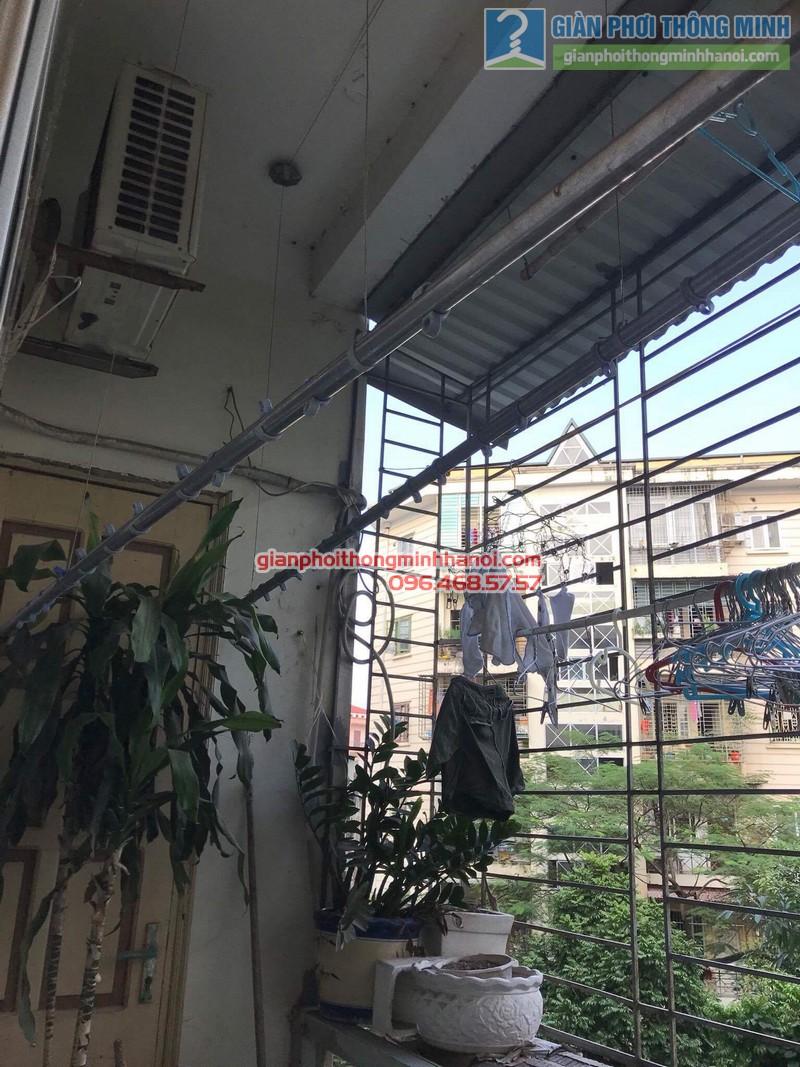 Sửa giàn phơi Ba Sao nhà anh Hiệu, ngõa 16 Phan Văn Trường, Dịch Vọng, Cầu Giấy, Hà Nội - 03
