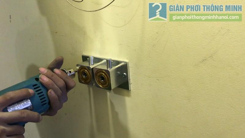 Lắp giàn phơi 999B nhà chị Mai, chung cư Hòa Bình Green, 505 Minh Khai, Hai Bà Trưng, Hà Nội - 06