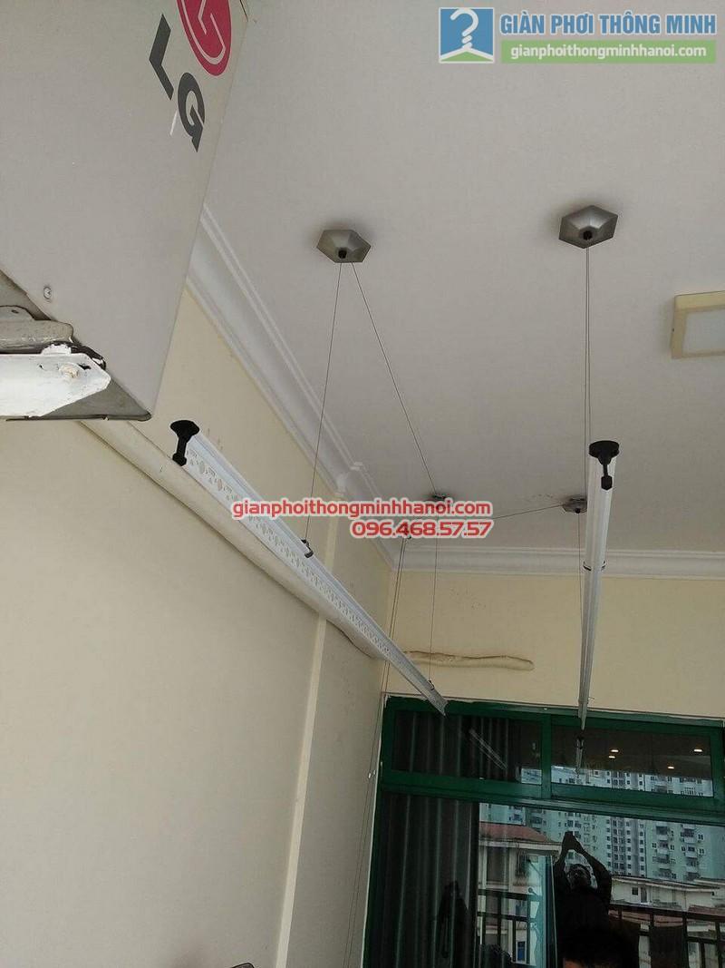 Lắp giàn phơi 999B nhà anh Đức, tòa 24T2 Hoàng Đạo Thúy, KĐT Trung Hòa Nhân Chính, Cầu Giấy, Hà Nội - 04